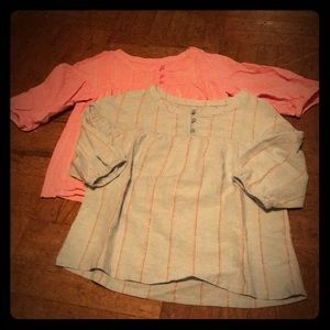 Girl's size 8 tops